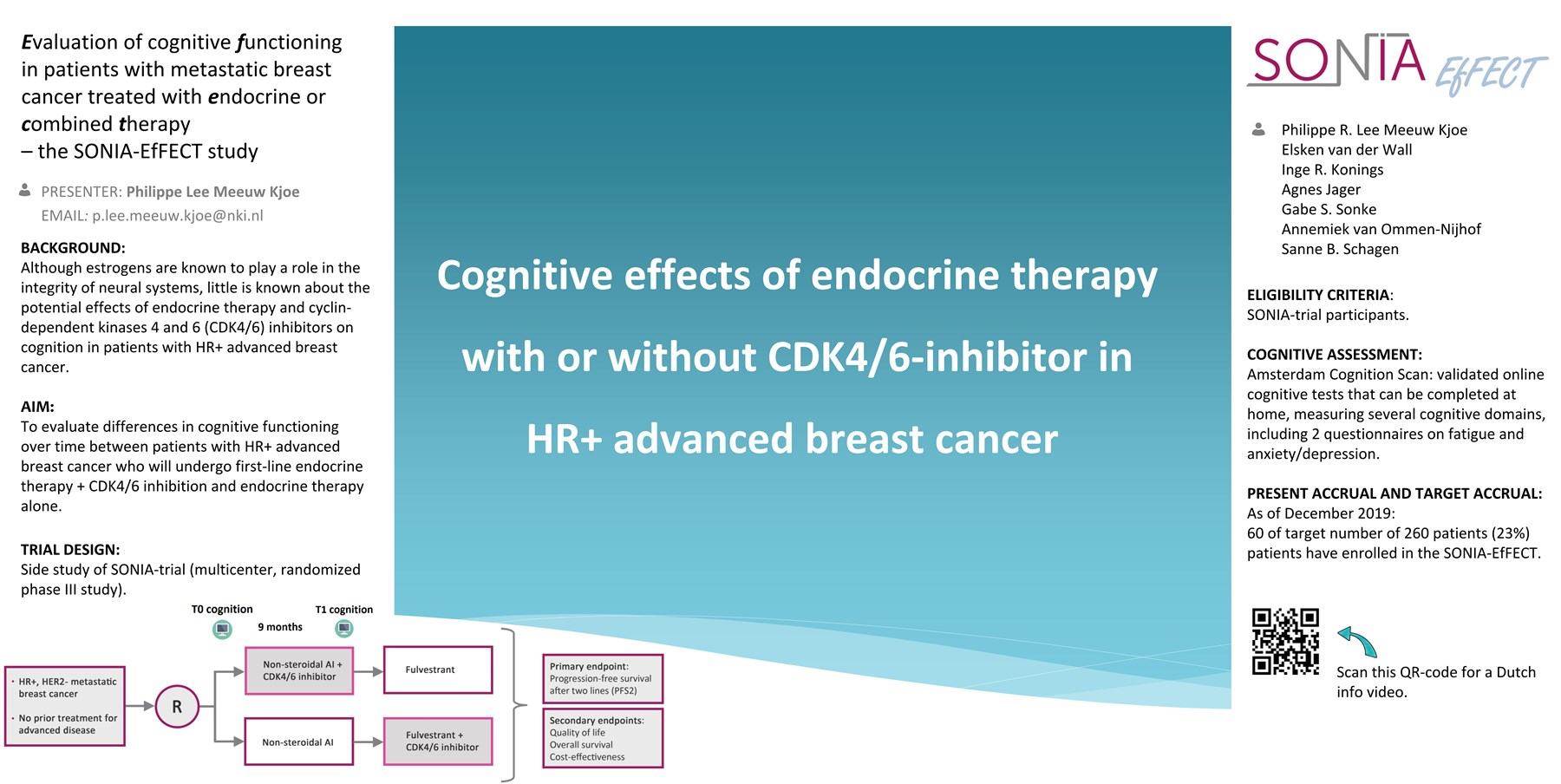 Evaluation of cognitive functioning in patients with metastatic breast cancer treated with endocrine or combined therapy
